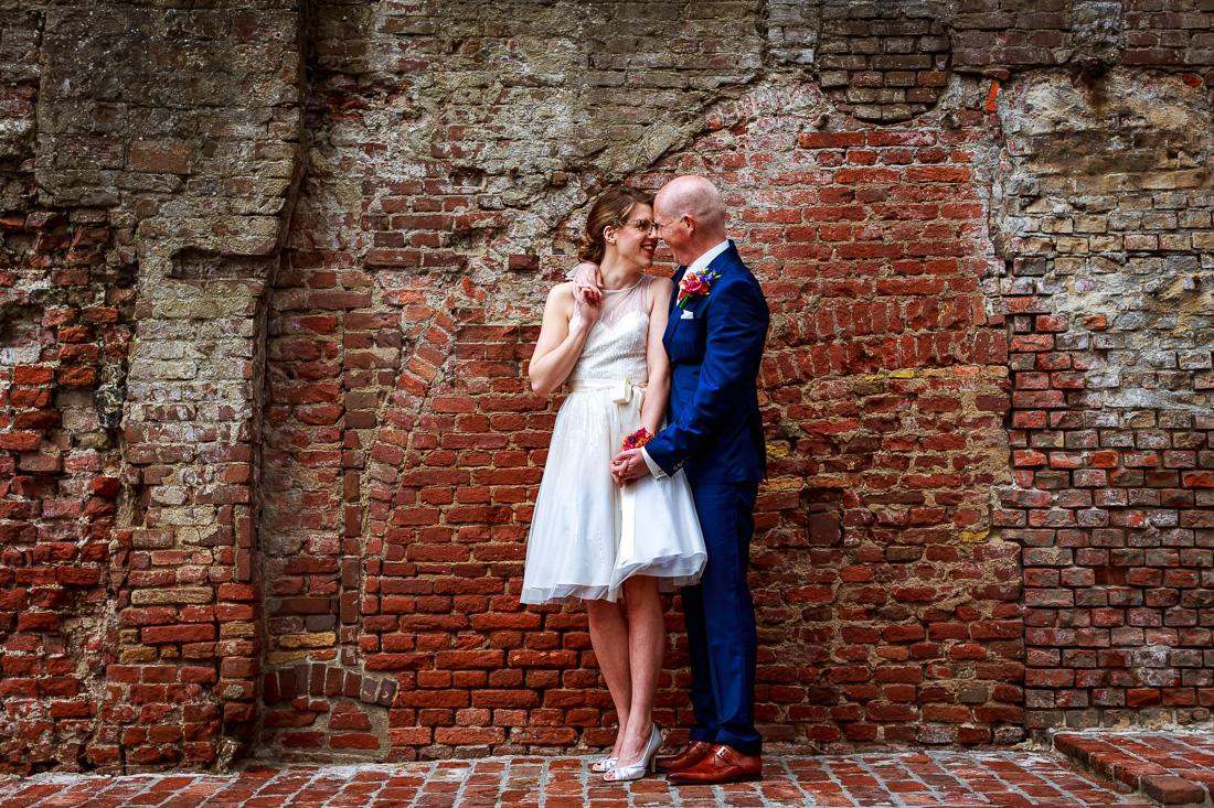 Trouwfotografie | Bruidsfotografie | Trouwreportage | Zwart-wit foto bruiloft | Bruiloft fotoshoot
