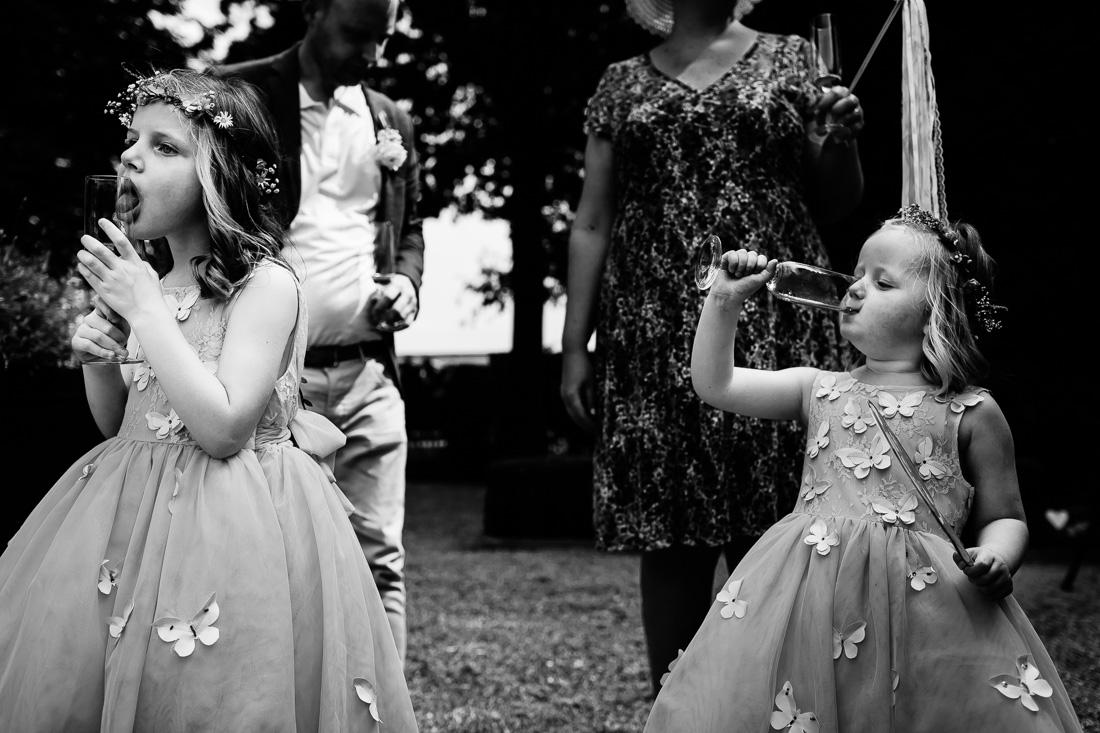 Trouwen Landgoederij Bunnik | Trouwen met kinderen | Bruidsfotograaf