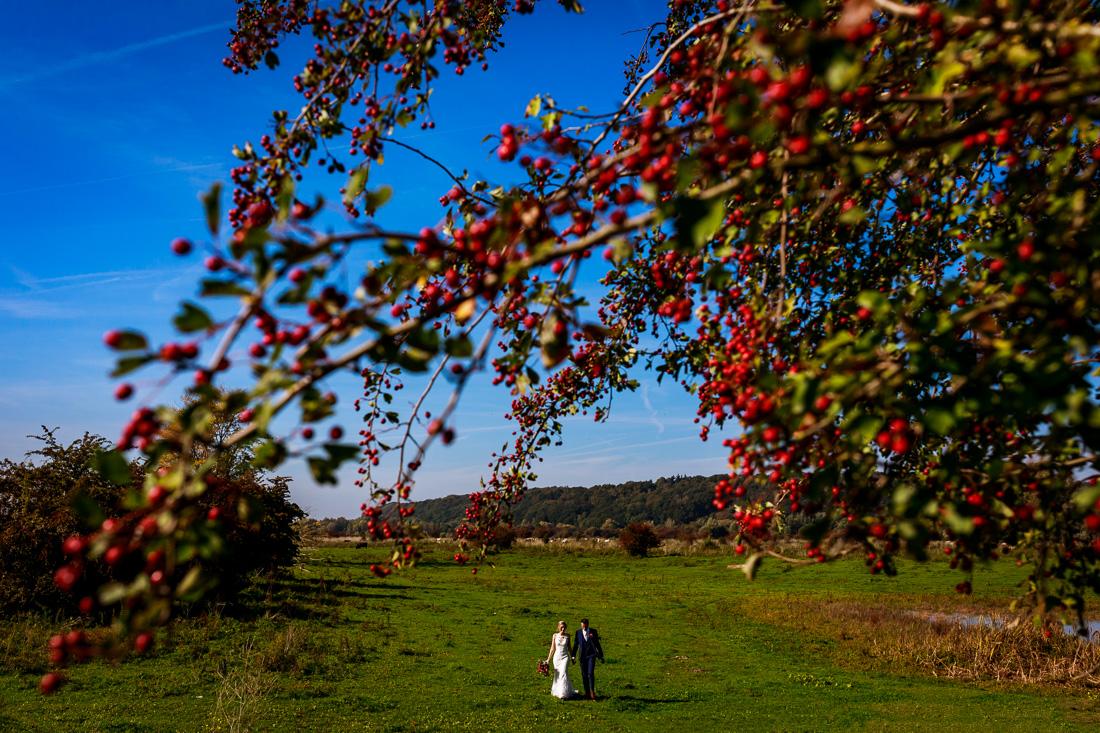Trouwfotograaf Utrecht | Bruidsfotograaf Utrecht | Herfstbruiloft | Trouwen in de herfst