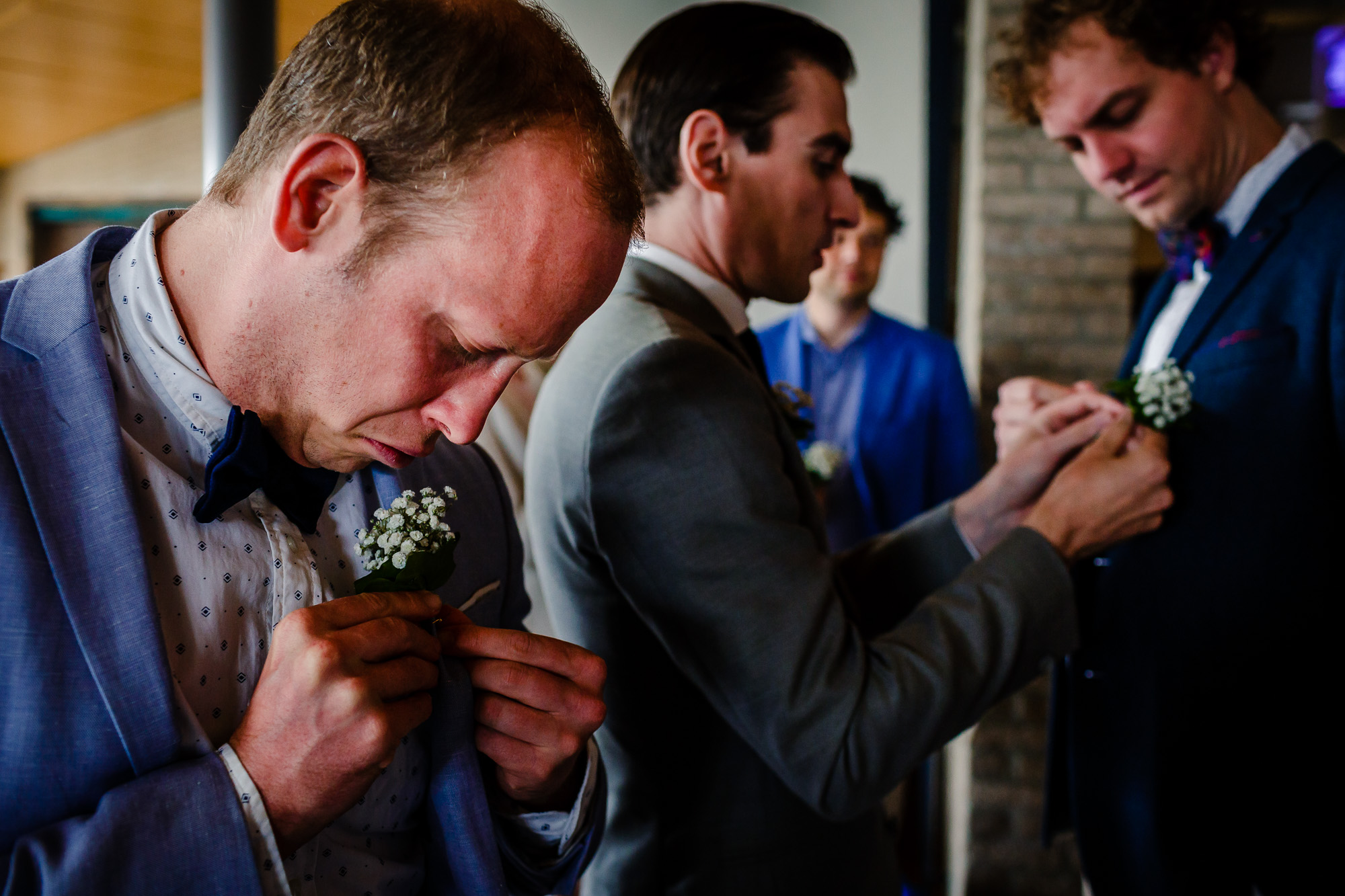 Trouwen op een eiland | Bruidsfotograaf Friesland | Ongeposeerde bruidsfotografie | Trouwen op de wadden | Let Me Tell Your Story